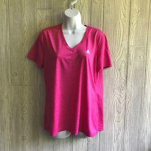 Adidas Ultimate Dry V Neck T Shirt